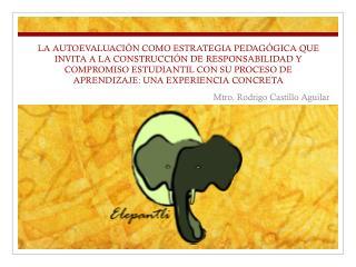 Mtro. Rodrigo Castillo Aguilar