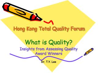 Hong Kong Total Quality Forum