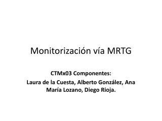 Monitorización vía MRTG
