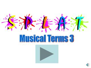 Musical Terms 3