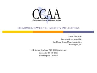ECONOMIC GROWTH, THE  SECURITY IMPLICATIONS