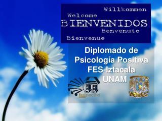 Diplomado de Psicología Positiva FES- Iztacala    UNAM