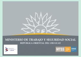 MINISTERIO DE TRABAJO Y SEGURIDAD SOCIAL  DIRECCIÓN NACIONAL DE EMPLEO