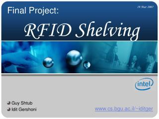 RFID Shelving