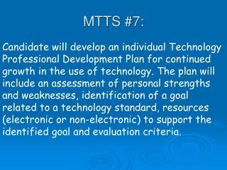 MTTS #7: