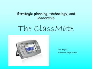 Strategic planning, technology, and leadership