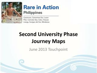 Second University Phase  Journey Maps