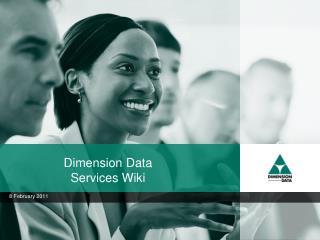 Dimension Data Services Wiki