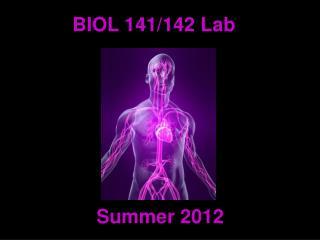 BIOL 141/142 Lab