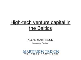 High-tech venture capital in the Baltics