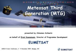 Meteosat Third Generation (MTG)