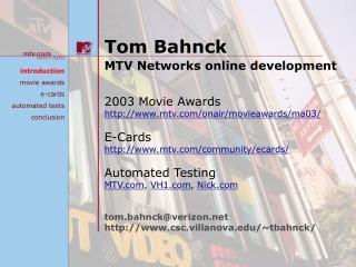 Tom Bahnck