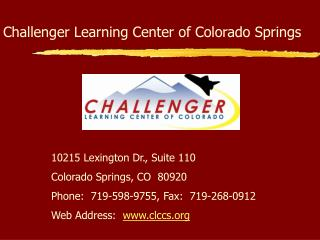 Challenger Learning Center of Colorado Springs
