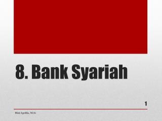 8. Bank  Syariah