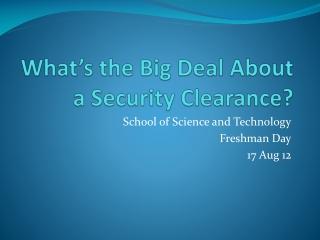 Defense Security Service
