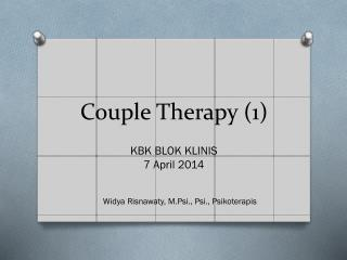 Couple  Therapy (1)