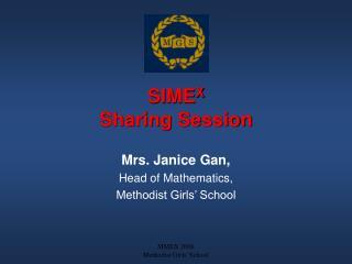 SIMEX Sharing Session