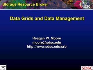 Data Grids and Data Management