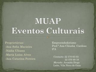 MUAP Eventos Culturais