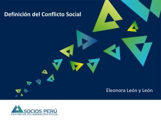 Definición del Conflicto Social