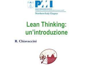 Lean Thinking: un'introduzione