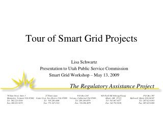 Tour of Smart Grid Projects