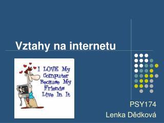 Vztahy na internetu