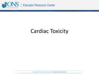 Cardiac Toxicity