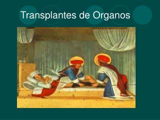 Transplantes de Organos