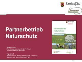 Brigitte Leicht  Dienstleistungszentrum ländlicher Raum Rheinhessen-Nahe-Hunsrück Inge Unkel