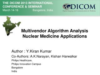 Multivendor Algorithm Analysis Nuclear Medicine Applications
