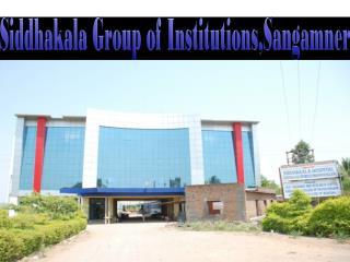 Siddhakala Group of Institutions,Sangamner