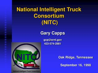 National Intelligent Truck Consortium  (NITC)