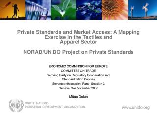 ECONOMIC COMMISSION FOR EUROPE COMMITTEE ON TRADE Working Party on Regulatory Cooperation and
