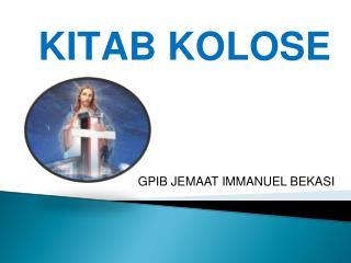 KITAB KOLOSE