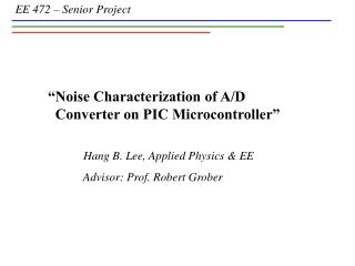 Noise Characterization of A