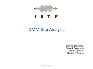 DMM Gap Analysis