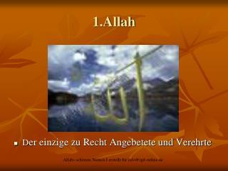 1.Allah
