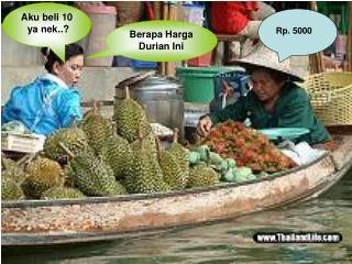 Berapa Harga Durian Ini