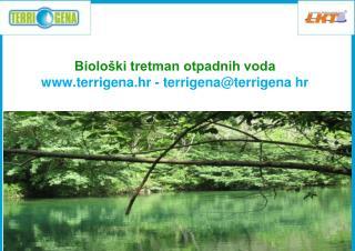 Biološki tretman otpadnih voda terrigena.hr - terrigena@terrigena hr