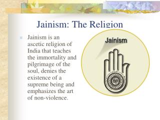 Jainism: The Religion