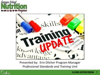 Writing a training programme