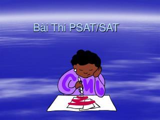 Bài Thi PSAT/SAT