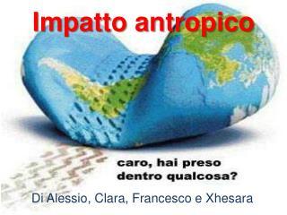 Impatto antropico