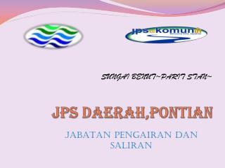 JPS DAERAH,PONTIAN