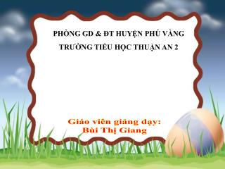PH�NG GD & ?T HUY?N PH� V�NG TR??NG TI?U H?C THU?N AN 2
