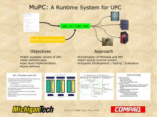 MuPC: A Runtime System for UPC