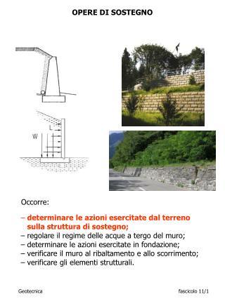 Geotecnicafascicolo 11/ 1