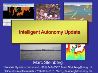 Marc Steinberg Naval Air Systems Command, (301) 342–8567, Marc.Steinberg@navy.mil