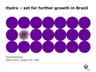 Hydro � set for further growth in Brazil